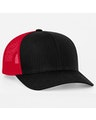 Pacific Headwear 0104PH Black/Red/Black