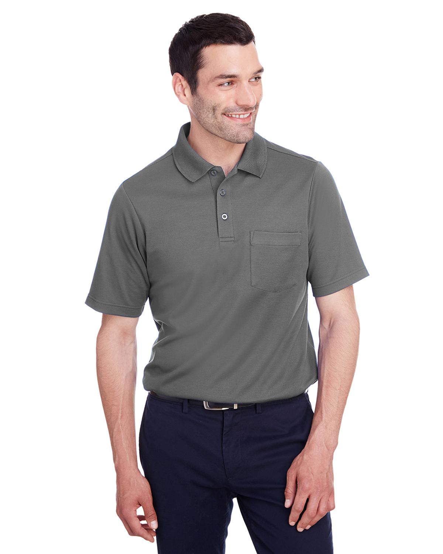 4XL NEW 3XL Mens POCKET Polo Shirt Moisture Wicking Poly ...