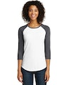 District DT6211 Heather Charcoal / White