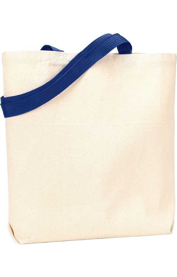 Liberty Bags 9868 Natural/Navy
