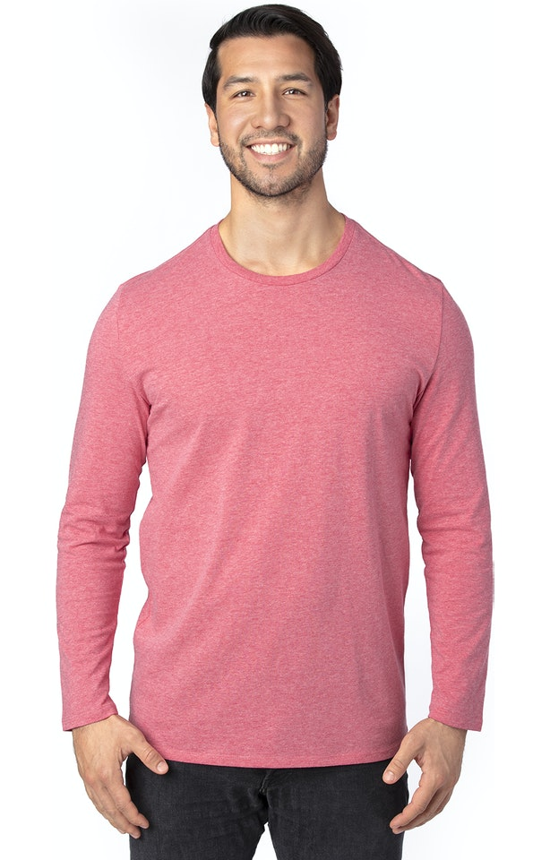 Threadfast Apparel 100LS Red Heather