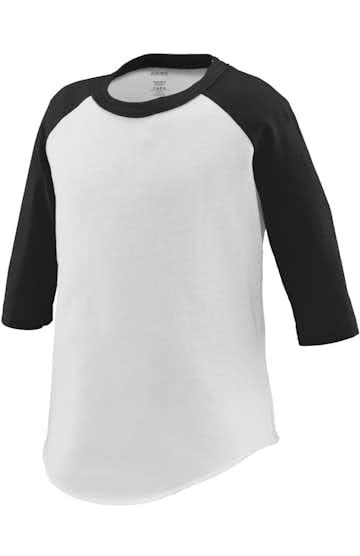 Augusta Sportswear 422 White/ Black
