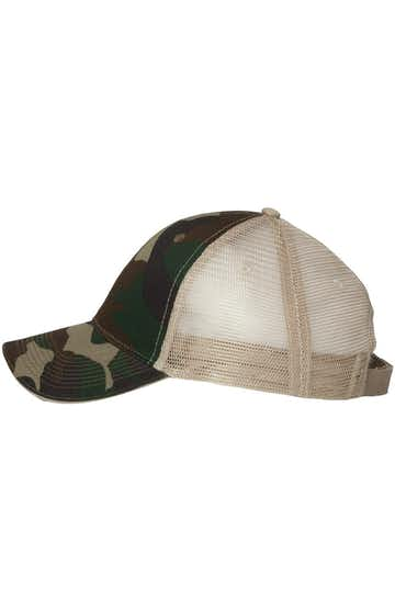 Valucap S102 Green Camo / Tan