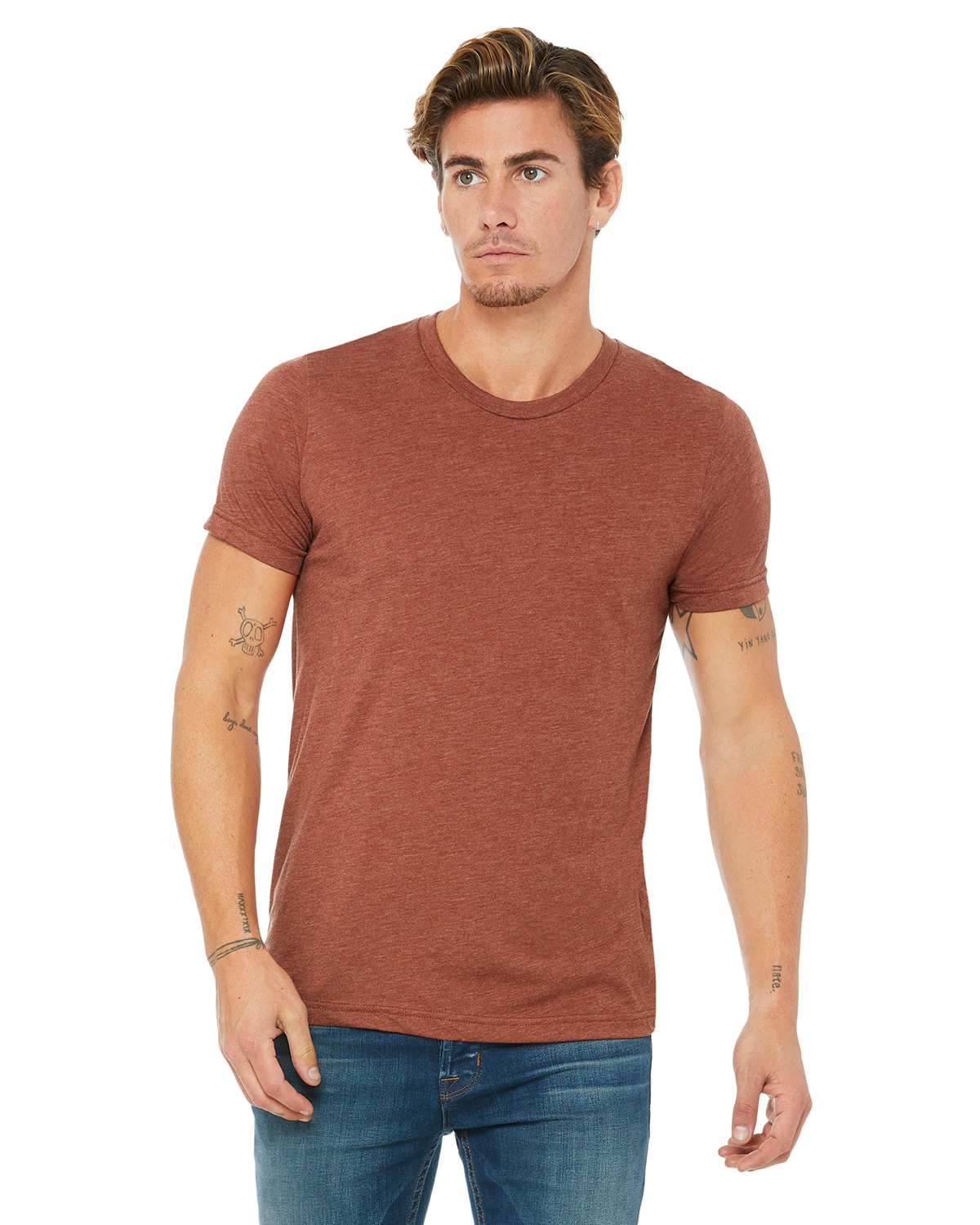 Canvas Triblend Short-Sleeve T-Shirt 3413C Bella