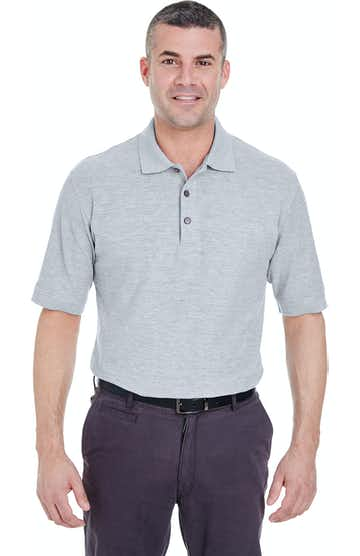 UltraClub 8540T Heather Grey