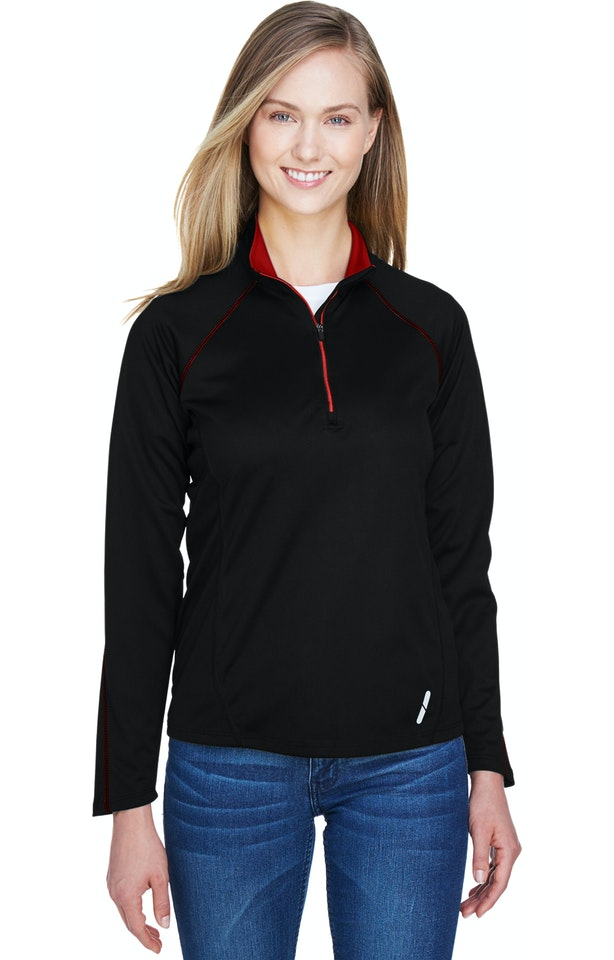 Ash City - North End 78187 Black/Classic Red