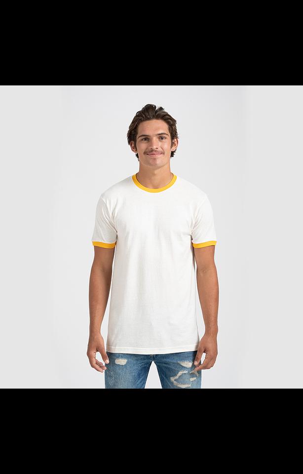 Tultex 0246TC Vintage White/Mellow Yellow