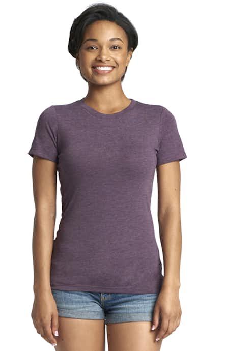 7a54ada8 ... V-Neck T-Shirt. Next Level 6710 Vintage Purple