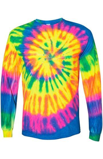 Dyenomite 240MS Fluorescent Rainbow Spiral