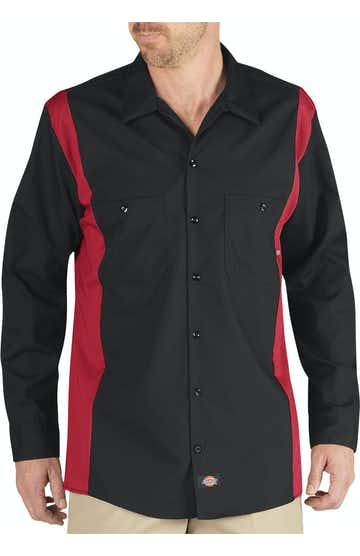 Dickies LL524 Black/ Red