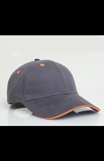 Pacific Headwear 0121PH Graphite/Neon Orange