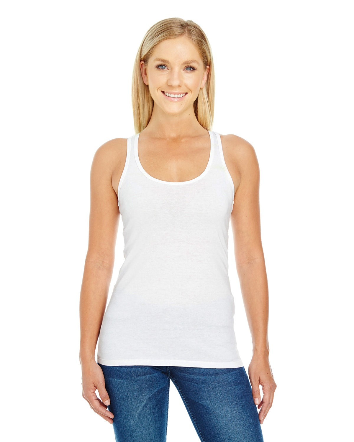 Threadfast Apparel 220RT Active White