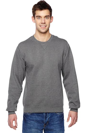 Fruit of the Loom SF72R Charcoal Heather