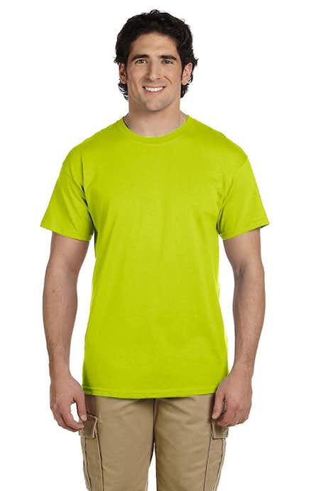 Gildan G200T High Viz Safety Green