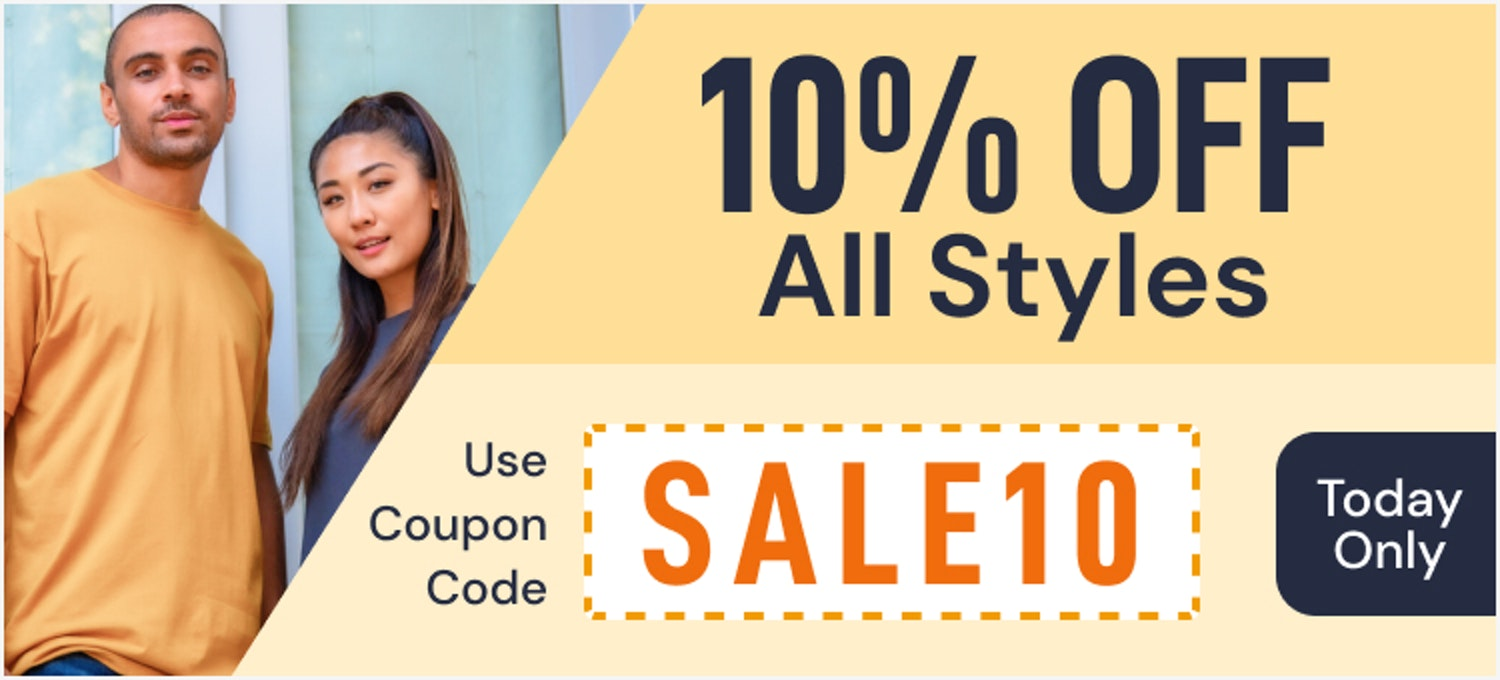 18 May 10% off sitewide