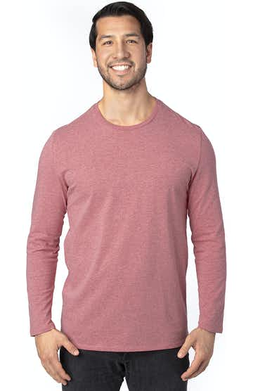 Threadfast Apparel 100LS Maroon Heather