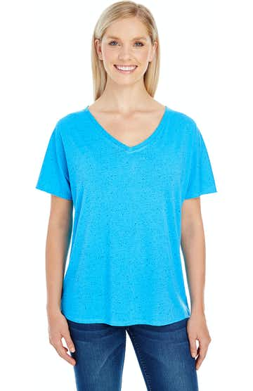 Threadfast Apparel 203FV Turquoise Fleck