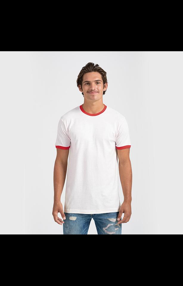 Tultex 0246TC White/Red