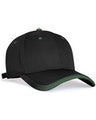 Pacific Headwear 0416PH Black/Dkgreen