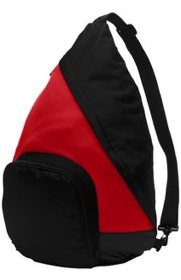 Port Authority BG206 True Red / Black