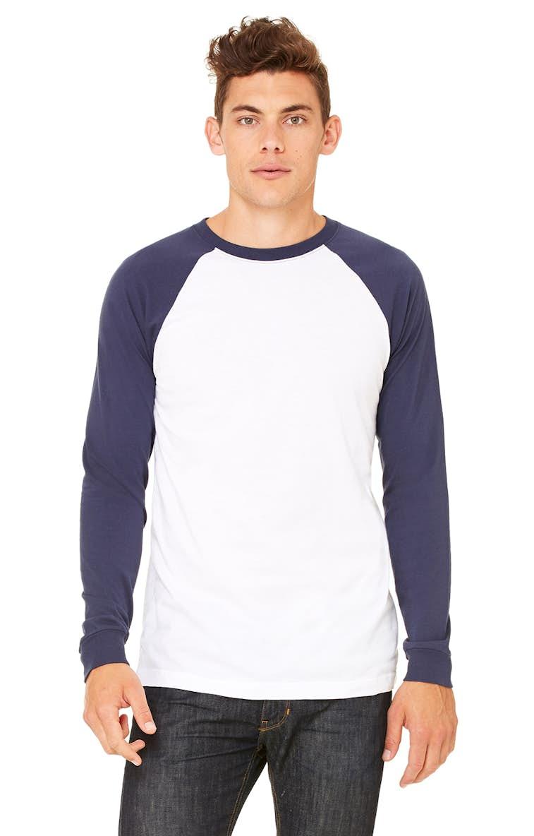 0a57dd60b32 Bella+Canvas 3000C Men s Jersey Long-Sleeve Baseball T-Shirt -  JiffyShirts.com