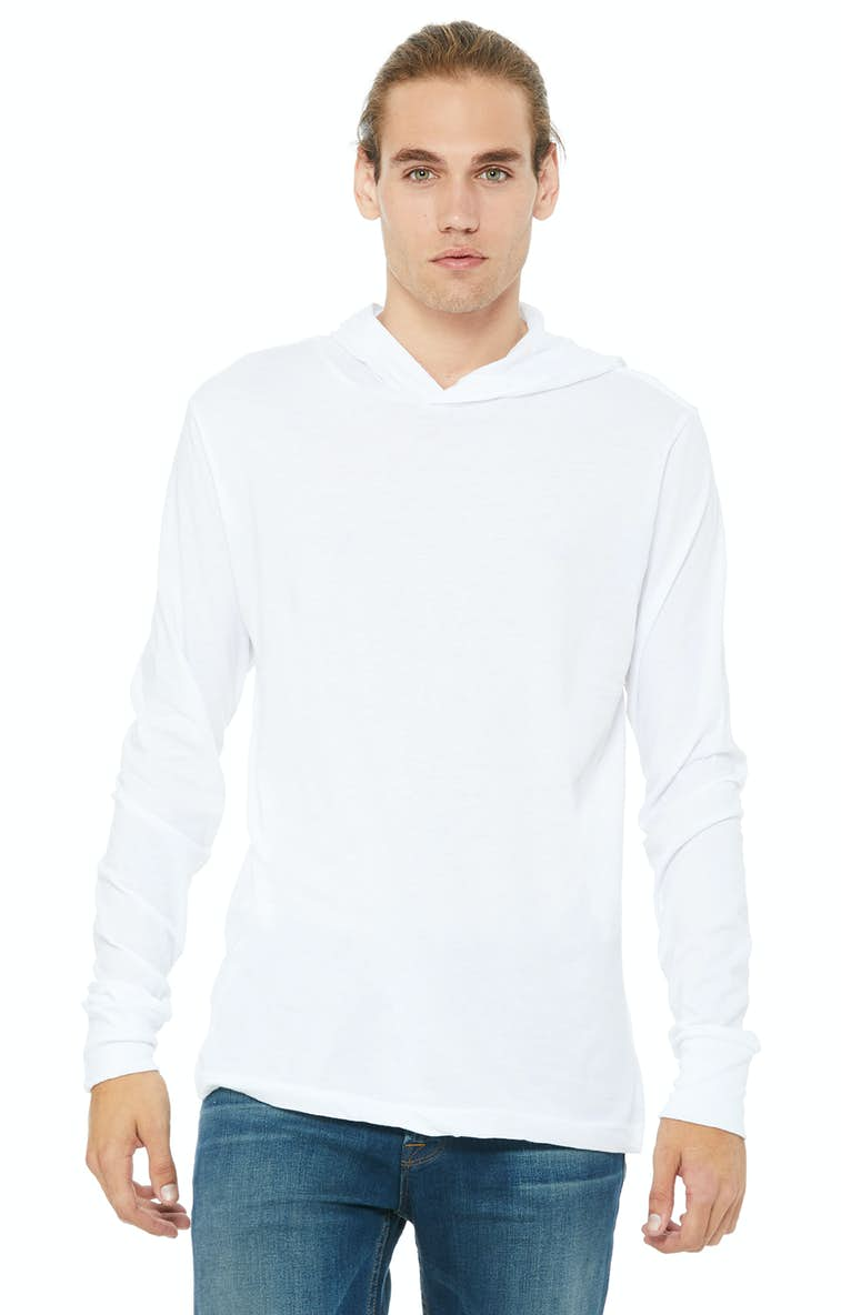 084e52d2 Bella+Canvas 3512 Unisex Jersey Long-Sleeve Hoodie - JiffyShirts.com