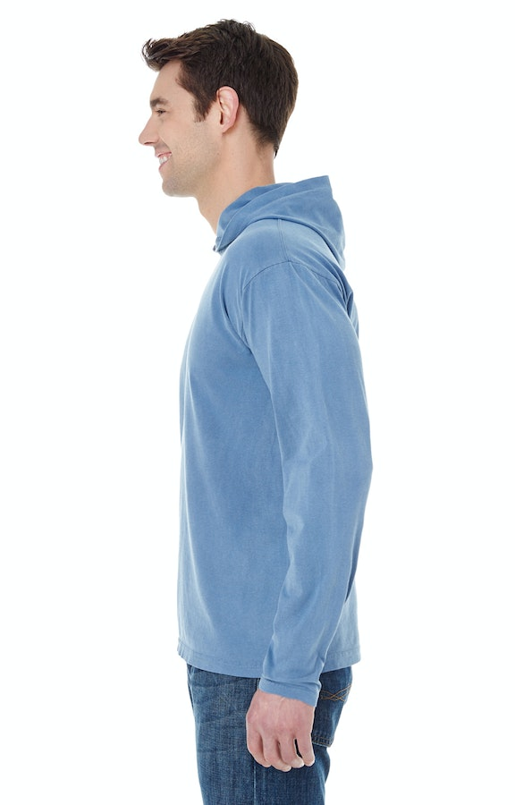 ef812a2be9 Comfort Colors 4900 Adult Heavyweight RS Long-Sleeve Hooded T-Shirt -  JiffyShirts.com