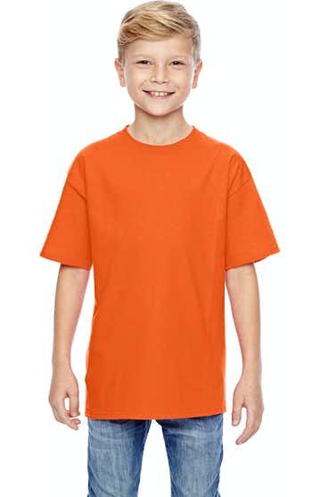 Hanes 498Y Orange
