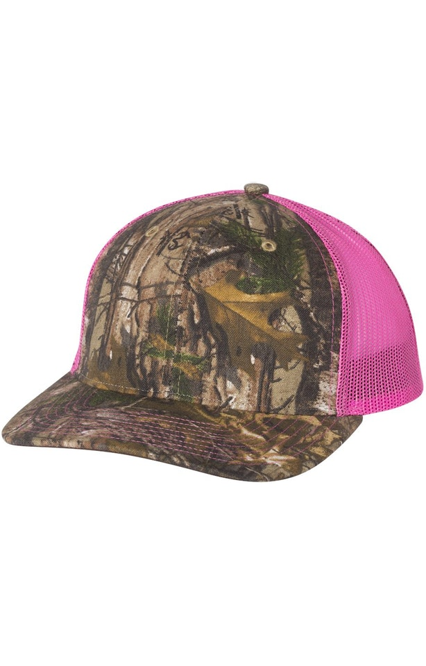 Richardson 112P Realtree Edge/ Neon Pink