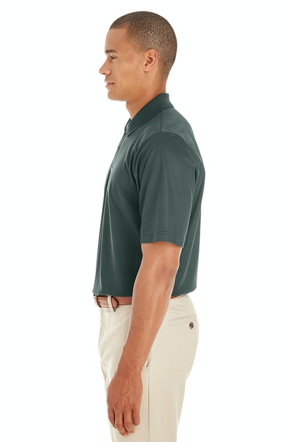 0dbc0be93 Ash City - Core 365 CE102 Forest/ Crbn 630 Men's Express Microstripe  Performance Piqué Polo
