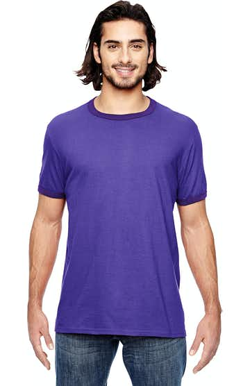 Anvil 988AN Heather Purple / Purple