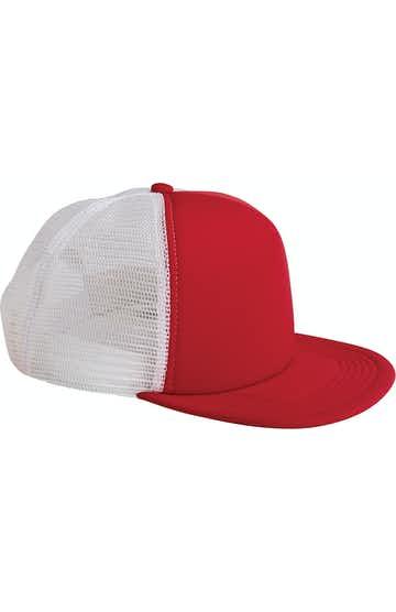 Big Accessories BX030 Red/White