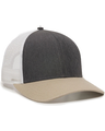 Outdoor Cap OC770 Heath Charcoal / White / Khaki
