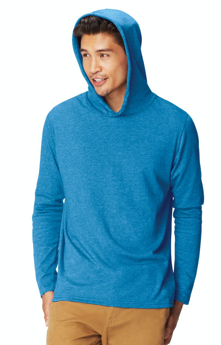 6c61cec4 Comfort Colors 4900 Adult Heavyweight RS Long-Sleeve Hooded T-Shirt -  JiffyShirts.com