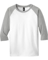 District DT6210Y Light Heather Gray / White