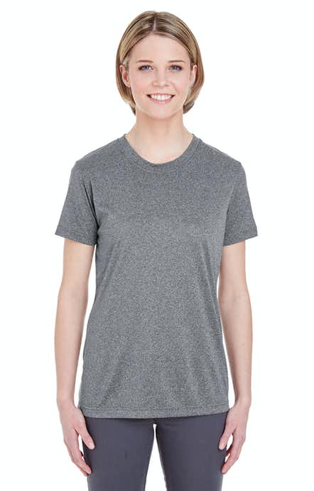 UltraClub 8619L Charcoal Heather