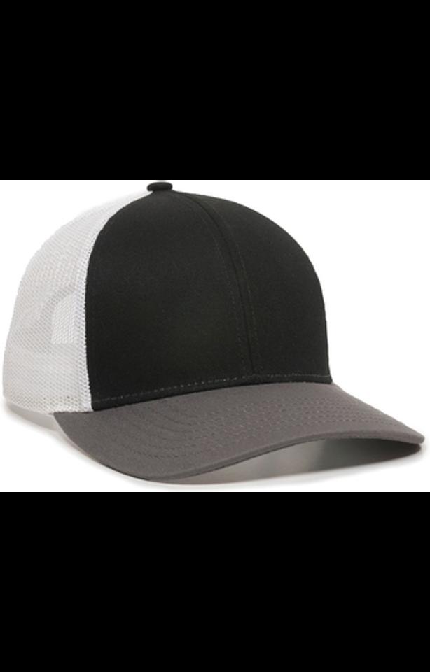 Outdoor Cap OC770 Black / White / Charcoal