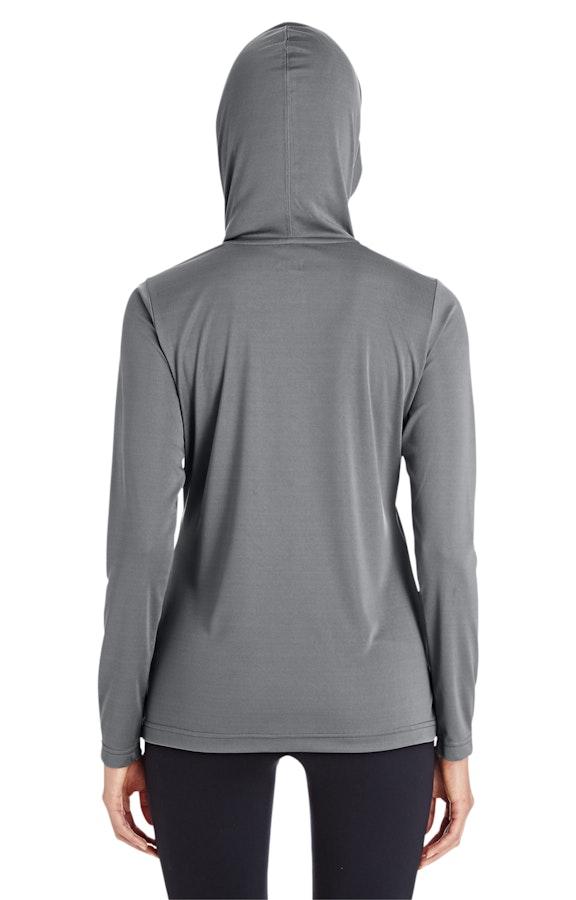 d5efe667b Team 365 TT41W Ladies' Zone Performance Hoodie - JiffyShirts.com
