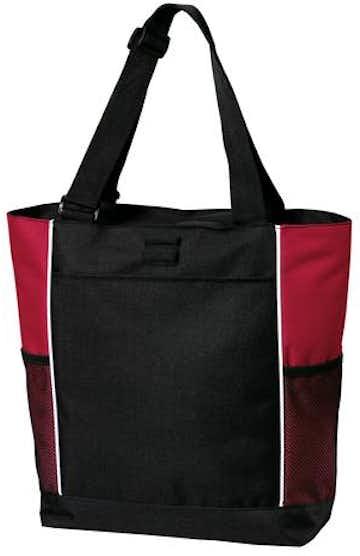 Port Authority B5160 Black / Red