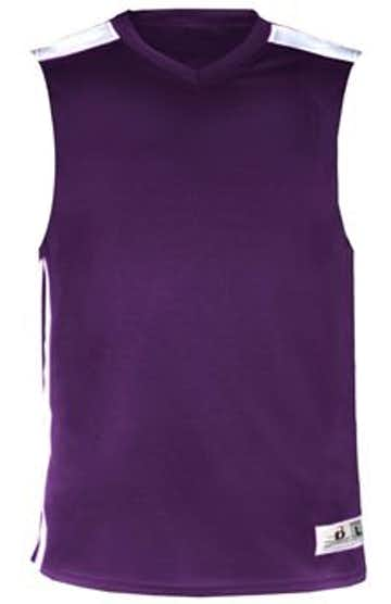 Badger B8548 Purple / White