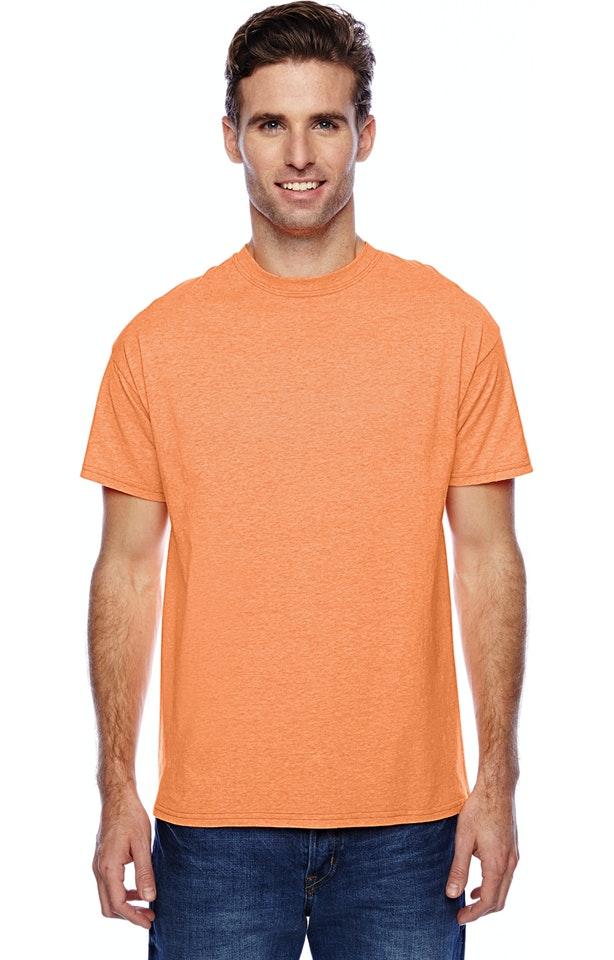 Hanes P4200 Neon Orange Heather