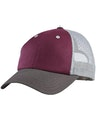 District DT616 Maroon / Charcoal / Gray