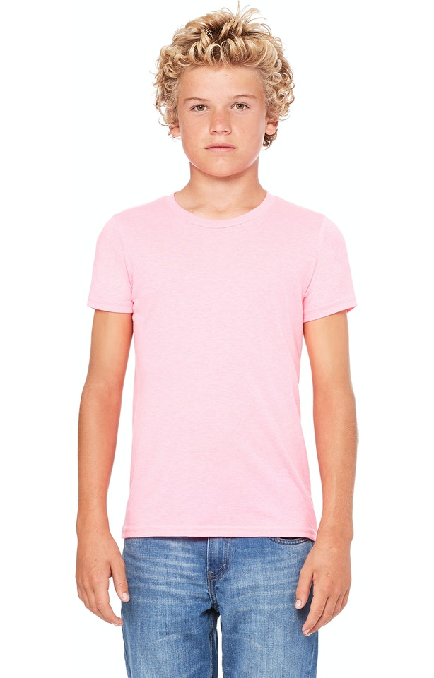 Bella + Canvas 3001Y Neon Pink