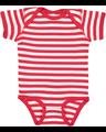 Rabbit Skins 4400 Red / White Stripe