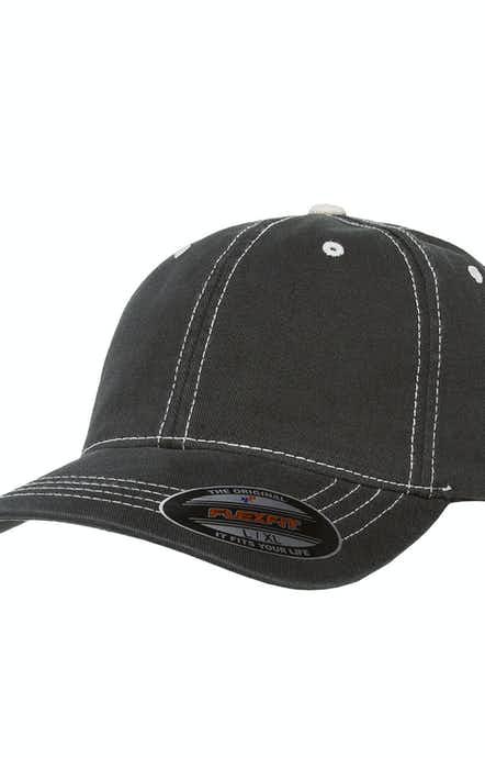 Yupoong 6386 Black/Stone