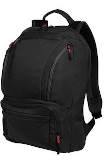 Port Authority BG200 Black / Red