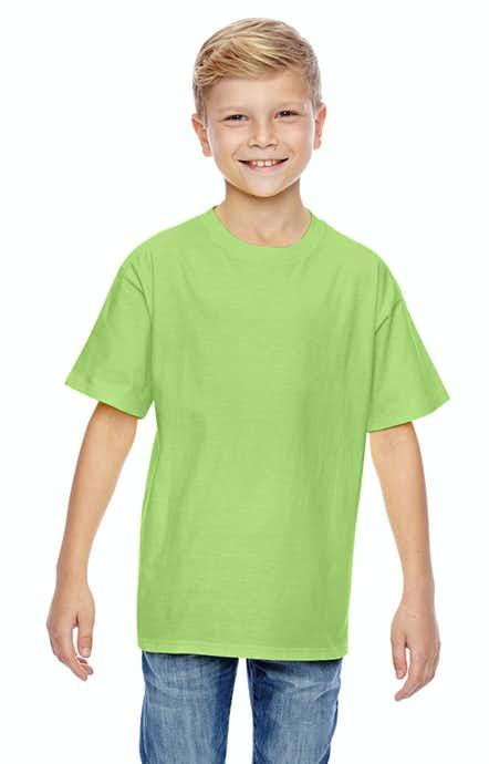 Hanes 498Y Lime