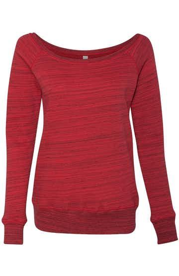 Bella + Canvas 7501 Red Marble Fleece