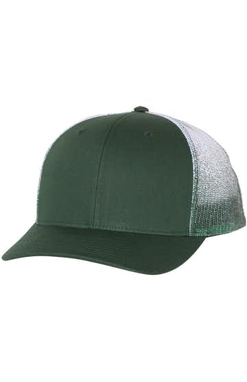 Richardson 112PM Dark Green/ Dark Green to White Fade