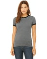 Bella + Canvas B6050 Heather Deep / Black